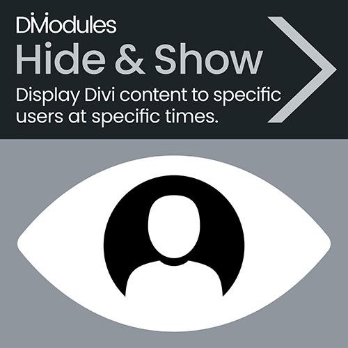 Divi-Modules – Hide & Show