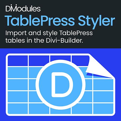 Divi-Modules – TablePress Styler